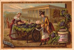 Chromos - LIEBIG - Le Violet - Marchande De 4 Saison - S170 - Bill-01- R/v - 2 - Liebig