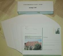 Germany 1991 / Ganzache / Postal Stationery / COMPLETE YEAR / 123 Pcs - [7] République Fédérale