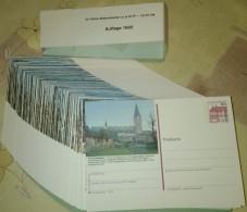 Germany 1985 / Ganzache / Postal Stationery / COMPLETE YEAR / 221 Pcs - [7] République Fédérale