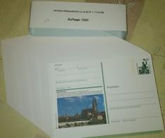 Germany 1990 / Ganzache / Postal Stationery / COMPLETE YEAR / 129 Pcs - [7] République Fédérale