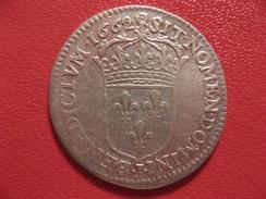 1/12 D'écu Louis XIV Au Buste Adolescent 1662 I Limoges - 25 000 Exemplaires 7441 - 987-1789 Monnaies Royales