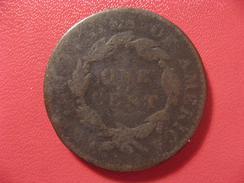 Etats-Unis - USA - One Cent Coronet Head 1820 7522 - 1816-1839: Coronet Head (Testa Coronata