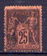 Frankreich Nr.74          O  Used       (816) - 1876-1898 Sage (Type II)