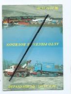 Carte De Visite -  Auto Pieces De Bourdon  - Service Dépannage VL Et Poids Lourds - Tarjetas De Visita