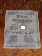 """WW2 German 16. SS Panzergrenadier Division """"Reichsfuhrer SS"""" ID, Document Auswies, Not Original (?)"""