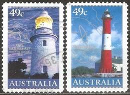 Australie - 2002 - Cape Naturaliste Et Troubridge Island - YT 2024 Et 2025 Oblitérés