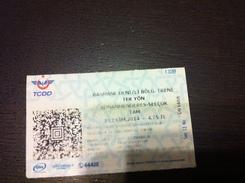 Ticket De Bus / Tram Selcuk (Turquie) - Europe