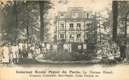 LA VARENNE INTERNAT ECOLE PIGIER COMMERCE COMPTABILITE - France