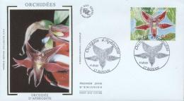 France 2005 - Cover: FDC - Flowers, Orchids