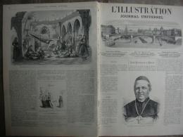 L'ILLUSTRATION  1401 MGR FESSLER / EMILE OILIVIER / GIULA GRISI /NAUFRAGE FECAMP 1er Janvier 1870 - Journaux - Quotidiens