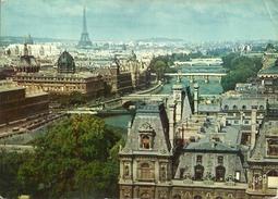 Paris (France) Perspective Des Sept Ponts, Vue Aerienne, Aerial View, Veduta Aerea, Luftansicht - Mehransichten, Panoramakarten