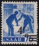 Saar     .          Michel     .   231  I   Gepruft        .           *        .         Ungebraucht Mit Gummi Und Falz - 1947-56 Occupation Alliée