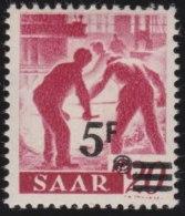 Saar     .          Michel     .   232  I   Gepruft        .           *        .         Ungebraucht Mit Gummi Und Falz - 1947-56 Occupation Alliée