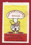 Suikerzakje.- ROTTERDAM Vh -MOONEN- VAN DER LINDEN EETSALON. Karel Doormanstraat 332. - W. V. Oordt & CO. Suiker. - Sugars