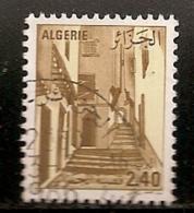 ALGERIE     OBLITERE