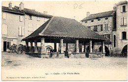 CPA 82 ( Tarn Et Garonne ) - CAYLUS - La Vieille Halle - Caylus