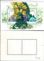 84214) Germania Federale-1997- 50 Anni Della Società Per La Protezione Delle Foreste-BF-n.6-usato