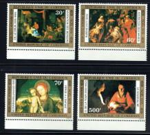 1976  Noël  Nativités De Bellini, LeBrun, Rubens, De La Tour  **  MNH  Paintings - Cameroon (1960-...)