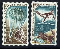 1968    Parachutisme Et Sports Nautiques  Yv 57-8   ** - Afars Et Issas (1967-1977)