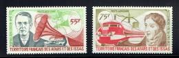1977  Edison Et Grammophone, Volta Et Train électrique  Yv 110-1  ** - Unused Stamps