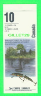 TIMBRES DU CANADA - NH-VF, HERITAGE RIVERS - 10 STAMPS BOOKLETS - SCOTT No 1412b , 10 X 42ç - NEW -