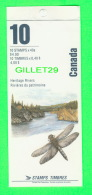 TIMBRES DU CANADA - NH-VF, HERITAGE WILDERNESS RIVERS - 10 STAMPS BOOKLETS - SCOTT No 1325b, 10 X 40ç  - NEW -