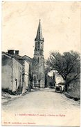CPA 82 ( Tarn Et Garonne ) - SAINTE THECLE - Clocher De L'Eglise - Autres Communes