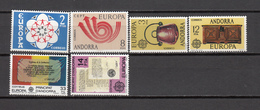 1973 - 1982   EDIFIL  Nº 85 / 86 , 102 / 103 , 157 / 158   / ** / - Nuevos