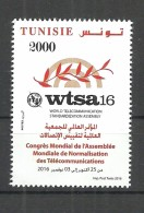 New 2016- Tunisia- World Telecommunication Standardization Assembly- Complete Set 1 V. MNH**