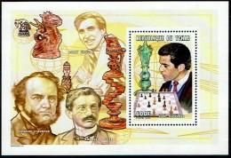 Schach Chess Ajedrez échecs - Tschad Tchad Chad - 2001 - Block