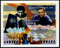 Schach Chess Ajedrez échecs - Mocambique Mozambique 2000 - Block Kasparov