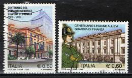ITALIA - 2006 - GUARDIA DI FINANZA - CENTENARIO DEL COMANDO GENERALE E DELLA LEGIONE ALLIEVI - USATI - 6. 1946-.. Repubblica