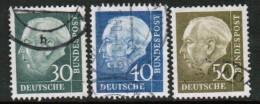 GERMANY   Scott # 755-61 VF USED