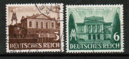 GERMANY   Scott # 498-501 VF USED - Used Stamps
