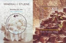 HR 2016-1247-8 MINERALS, CROATIA, S/S, MNH - Mineralien
