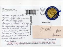 Etats-Unis--2016--carte Postale De SAN FRANCISCO Pour La France--tp Seul Sur Carte Postale - Cartas