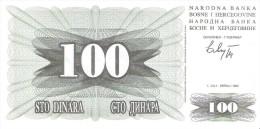 Bosnia And Herzegovina - Pick 13 - 100 Dinara 1992 - Unc - Bosnia Erzegovina