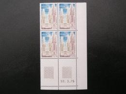 1808  Saint Pol De Léon  18/3/75  Neuf, Sans Charnière** - Coins Datés