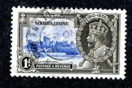 2785 W -theczar- 1935  SG.181 (o)  Offers Welcome. - Sierra Leone (...-1960)