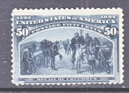 U.S. 240  * - Unused Stamps