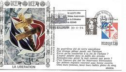 51  REIMS  30 Aout 1994 50° Anniversaire De La Libération De Reims  30/08/94