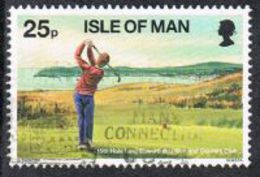 Isle Of Man SG756 1997 Golf 25p Good/fine Used [12/12458/25D]
