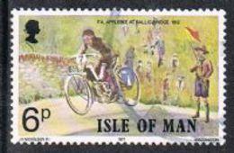 Isle Of Man SG99 1977 Linked Anniversaries 6p Good/fine Used [12/12450/25D]