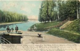 FINLAND - WESIJARVI CANAL, FINLAND - UNDIVIDED BACK - 1909 - VINTAGE ORIGINAL POSTCARD - Finnland