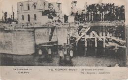 CPA - AK Nieuport Nieuwpoort Écluses Sclucces Schleusen Guerre 1914 15 WWI Westflandern A Westende Middelkerke Koksijde - Nieuwpoort