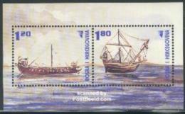 Bosnia Herzegovina 2002 Roman Ships S/s, (Mint NH), Transport - Ships & Boats