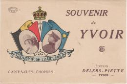 Litho CPA - AK Souvenir De Yvoir Namur Belgique Belgie Edition Delers Piette Roi Leopold III Astrid Albert I Elisabeth