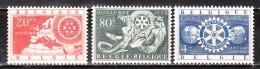 952/54**  Rotary International - Série Complète - MNH** - COB 2 - Vendu à 12.50% Du COB!!!!