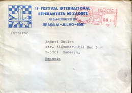 Brasil - Chess - Esperanto - 11th International Chess Festival Esperanto, Brasilia-Julho 1981