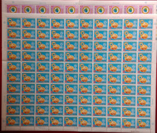 Taiwan 1983 Junior Chamber Inter Stamps Sheets JCI Whipping Top Map Emblem